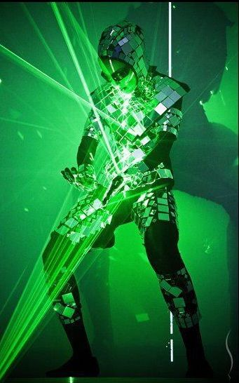 LED and Laser Dance
